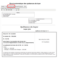 Quittance de loyer